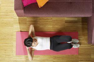 exercícios em casa durante o COVID 19